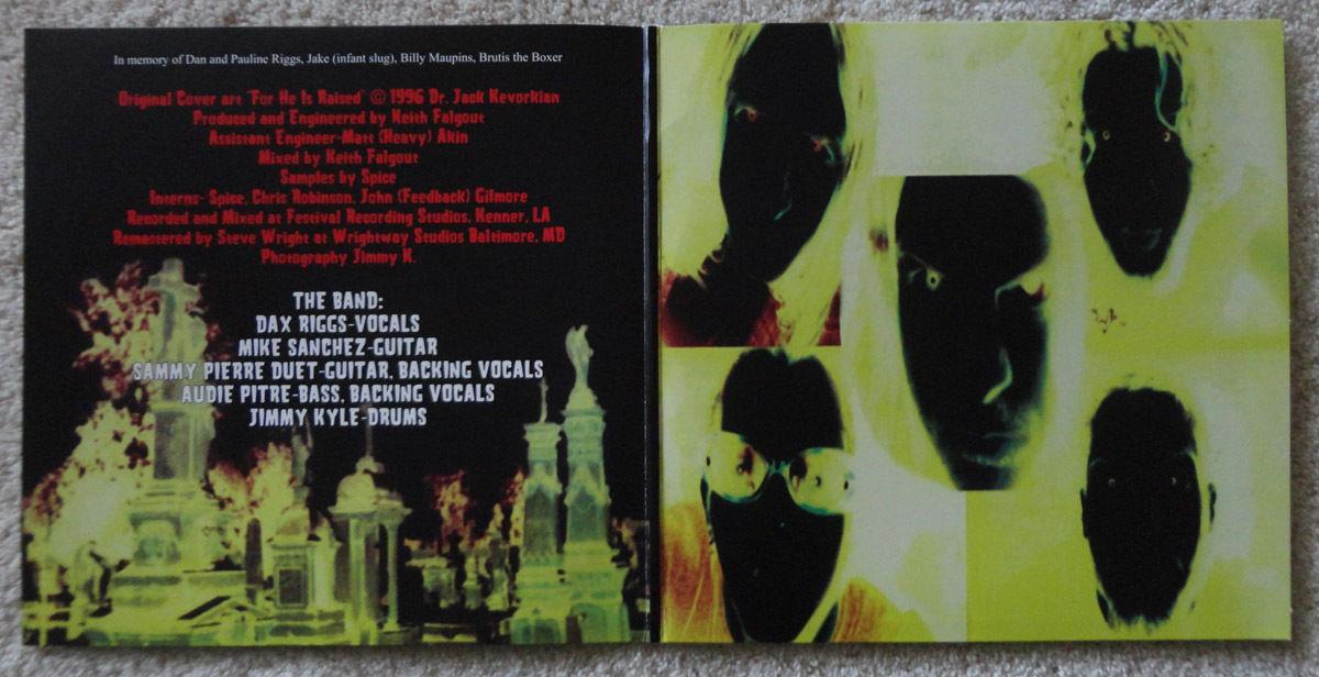Acid Bath Paegan Terrorism Tactics Lp 180 Gram Vinyl