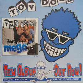 The Toy Dolls – One More Megabyte Poster