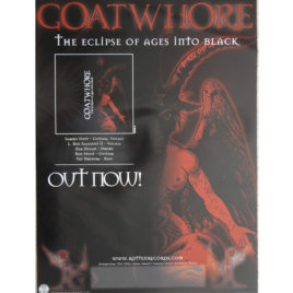 Goatwhore – The Eclipse of Ages into Black Poster