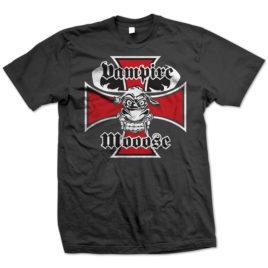 Vampire Mooose – Iron Cross T-shirt
