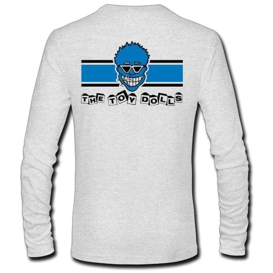 The – Racing Sleeve Rotten Dolls T Shirt Blue Stripe Long Toy 43j5ALR