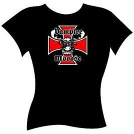 Vampire Mooose – Iron Cross – Baby Doll T-shirt