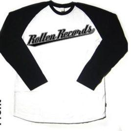 Rotten Records – Baseball T-shirt
