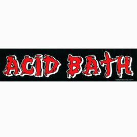 ACID BATH Strip Sticker