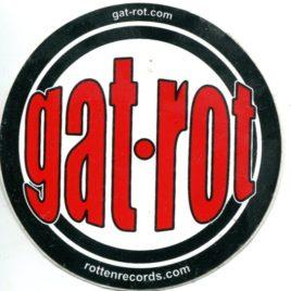 GAT-ROT Promo Vinyl Sticker