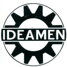 IDEAMEN Promo Gear Sticker