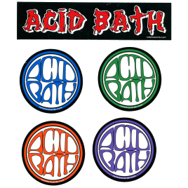 ACID BATH Sticker Pack