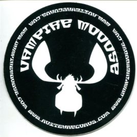 VAMPIRE MOOOSE Promo Sticker
