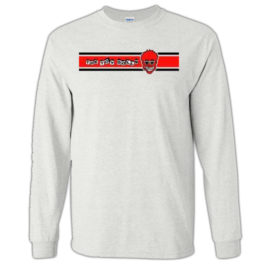 The Toy Dolls – Red Racing Stripe Long Sleeve T-Shirt